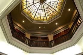 Dome in the lobby of 75 State Street